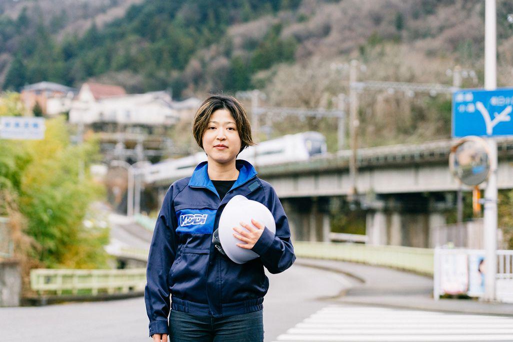 KDDI建設本部の川島優子