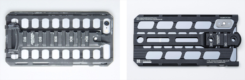 カトキハジメiPhoneケース「RAILcase/ts/Mk2」と「RAILcase/ts/Mk3」