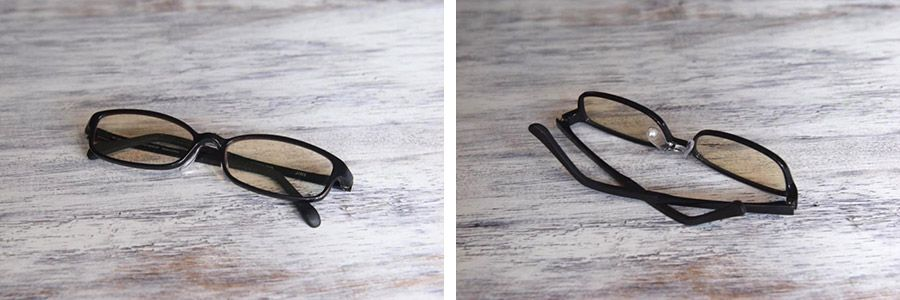 スマホスタンド、メガネ