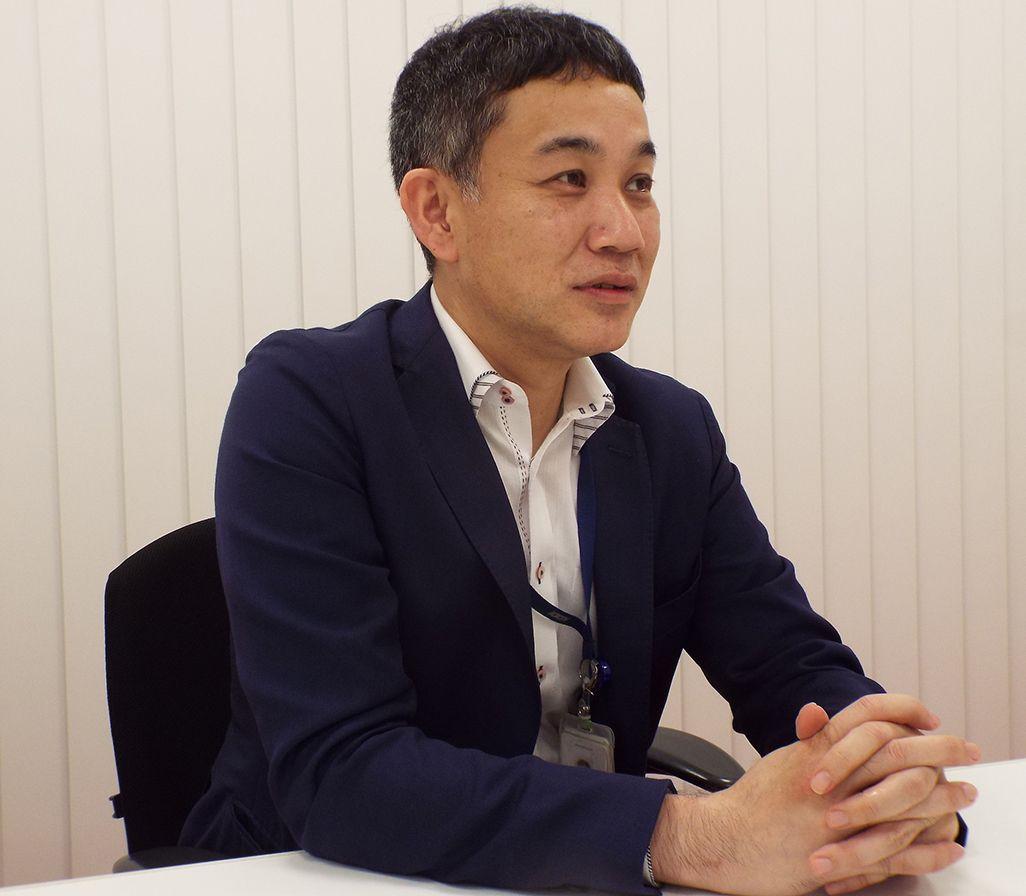 KDDI エリア品質管理部の西村朋浩