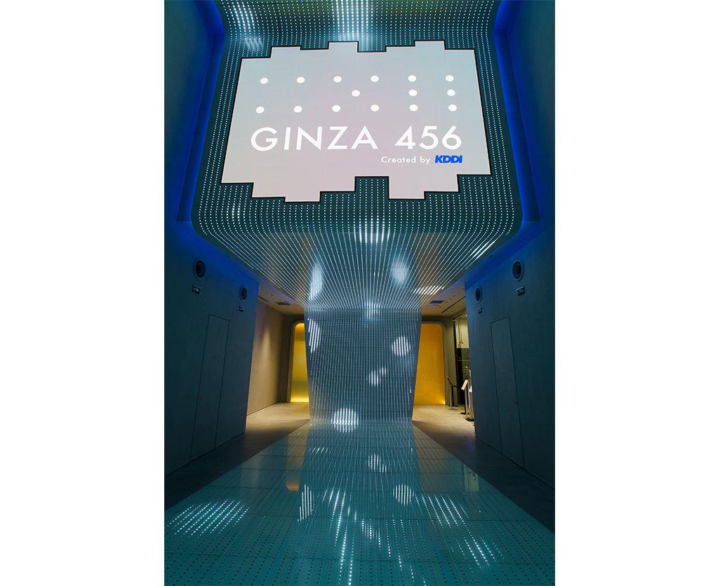 GINZA 456のエントランス