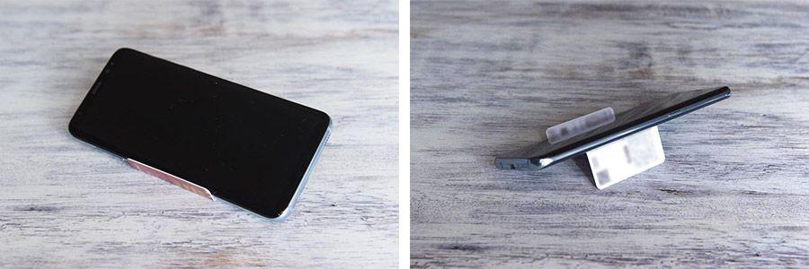 スマホスタンド、プラスチック製ポイントカード