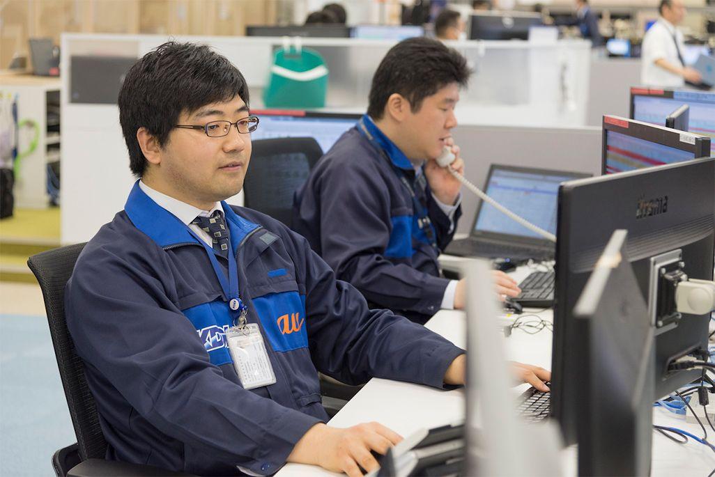 KDDI運用本部モバイルオペレーションセンター運用2G 卞小鵬