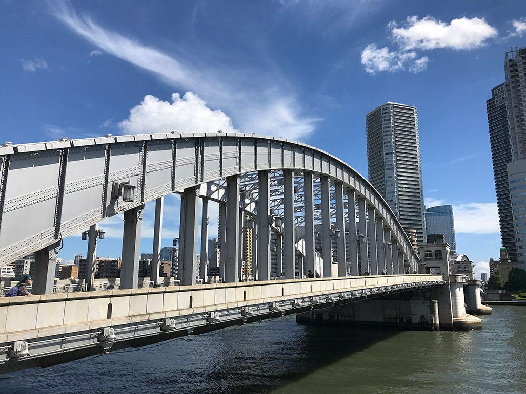iPhone 7で撮影した勝鬨橋
