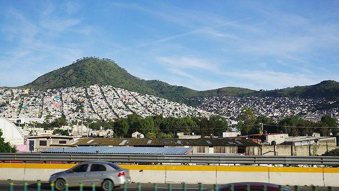メキシコ街並み