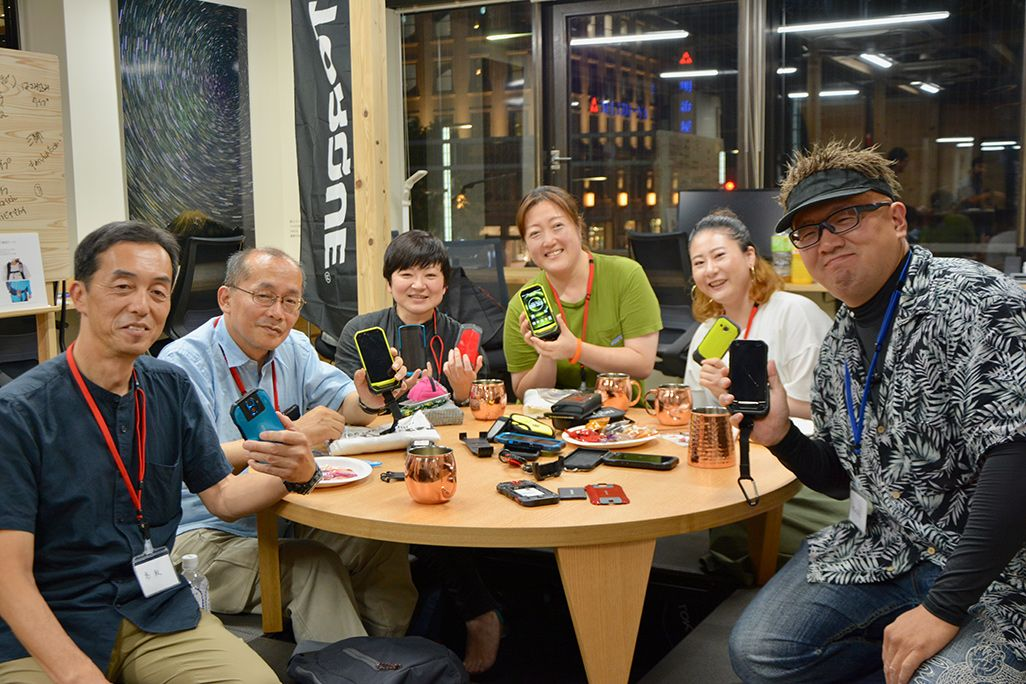 YAMAP東京支社で行われたTORQUEユーザーの意見交換会