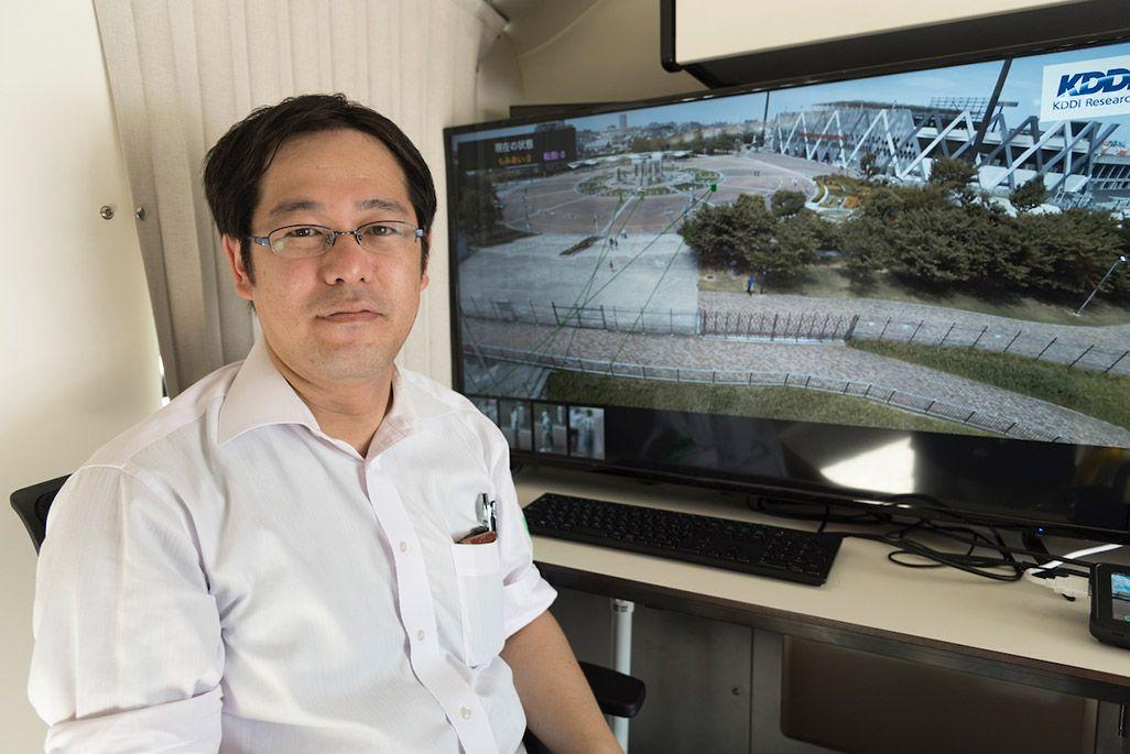 株式会社KDDI総合研究所 メディア認識グループ グループリーダー 田坂和之