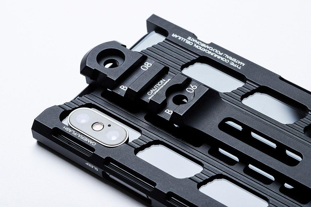 カトキハジメiPhoneケース「RAILcase」レイルシステム