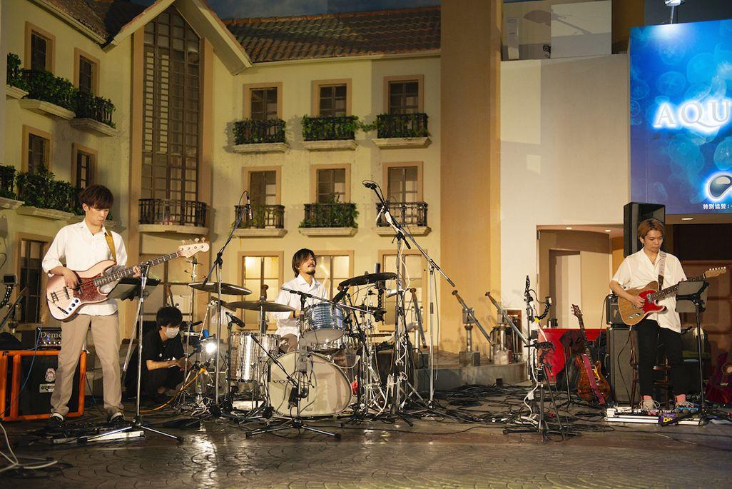キッザニアで行われた「プレミアムズコンサート」の「音のVR」収録の模様