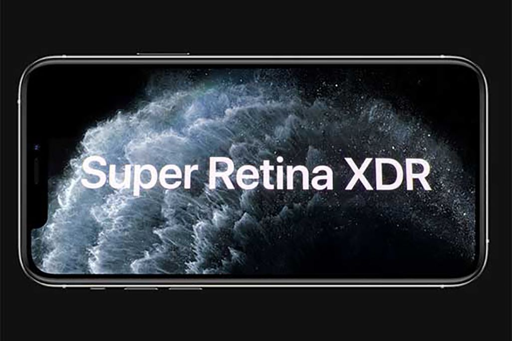 Super Retina XDRディスプレイのイメージ