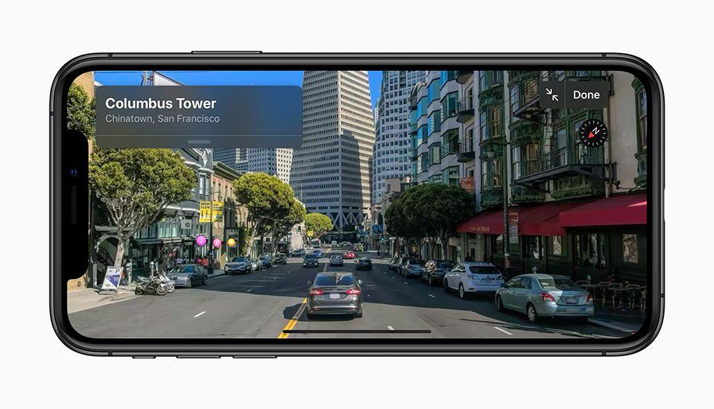 iOS 13「Look Around機能」