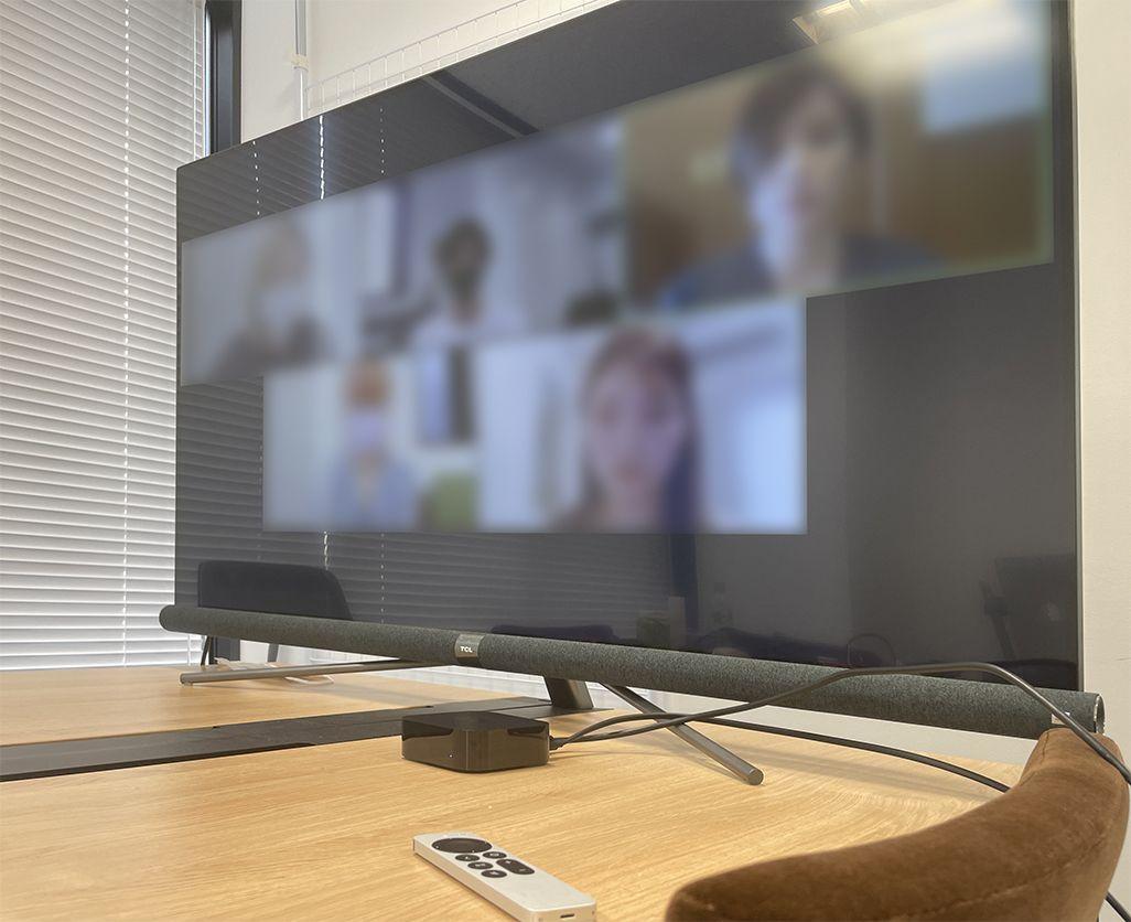 Apple TVでオンライン会議