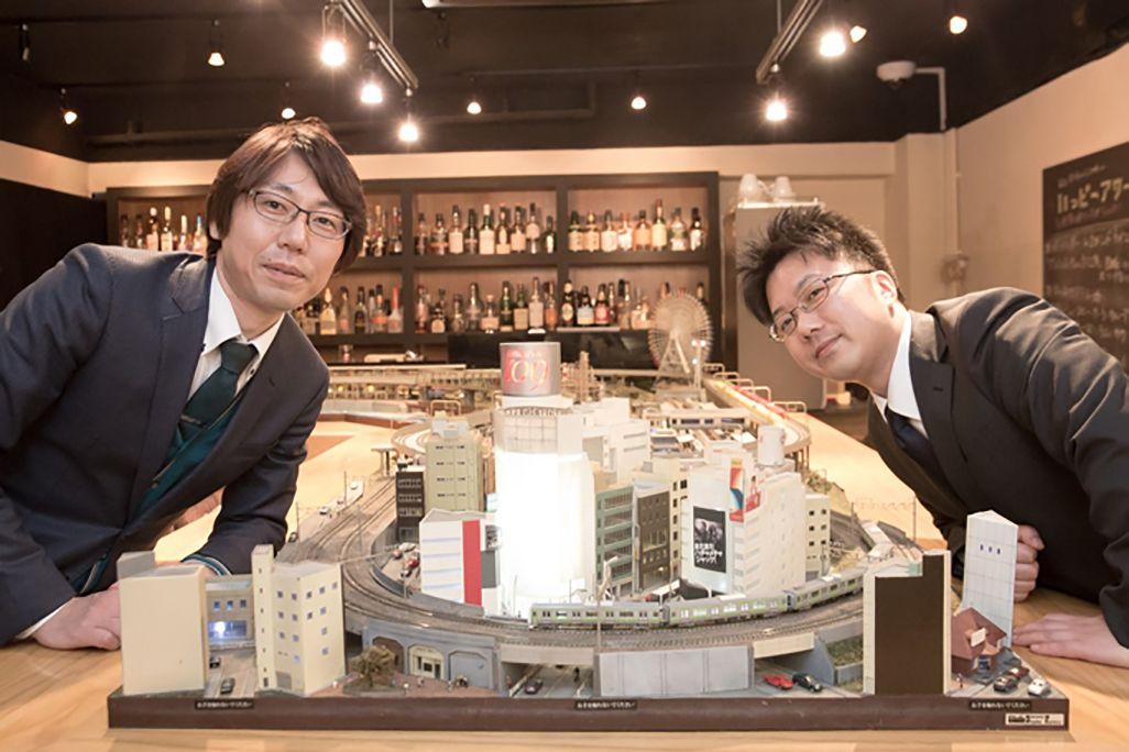 auによる渋谷の電波対策
