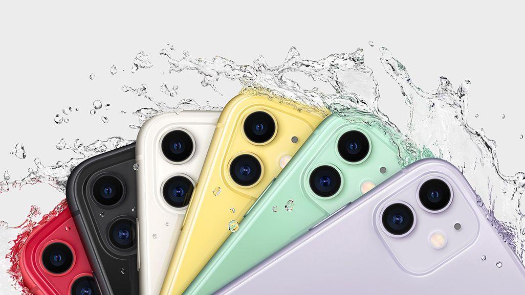 iPhone 11の防水性能