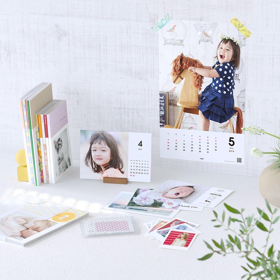 「TOLOT」のフォトブックやカレンダー