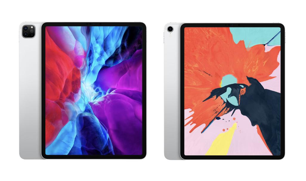 iPad pro 2020 と2018のイメージ画像