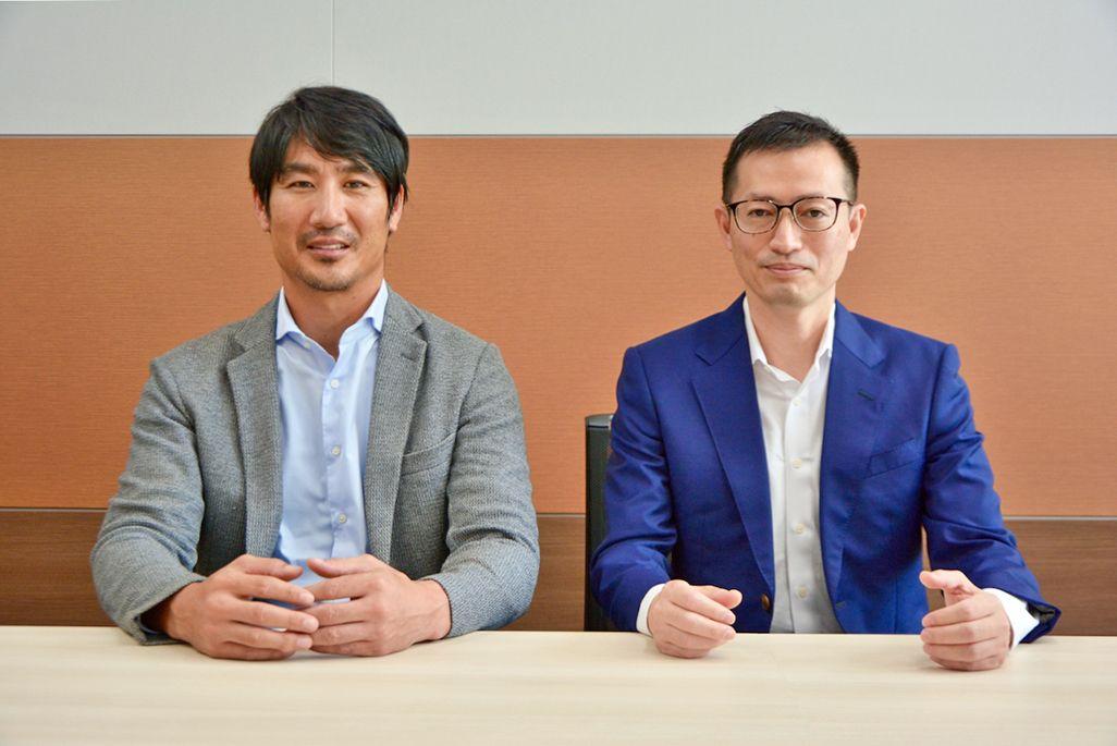 DGA豊川栄二副社長とKDDI地方創生推進部白井大介