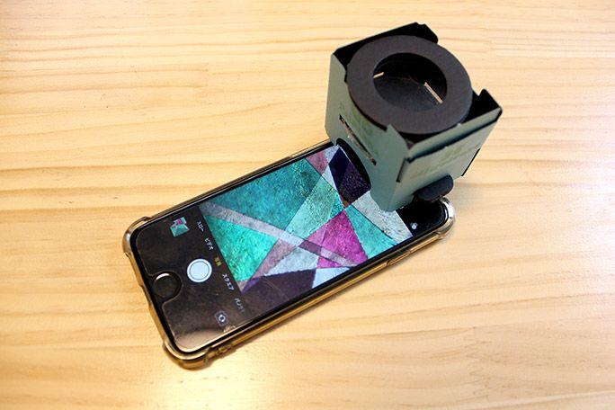 スマホ25偏光顕微鏡