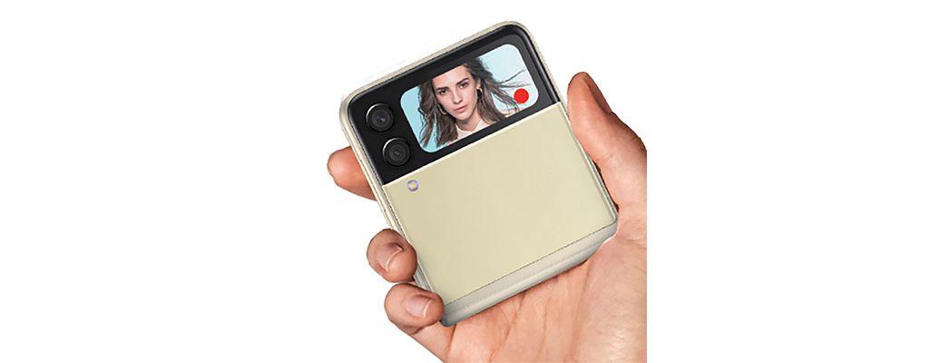 Galaxy Z Flip3 5Gのデュアルプレビュー機能