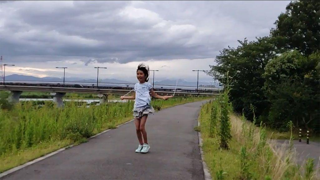 GalaxyS9で撮影したスーパースロー動画のシーン