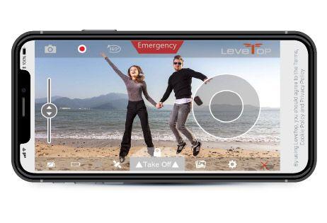 LeveTop iPhoneアプリ画面