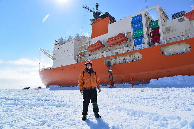 第55次南極越冬隊員のKDDI濱田彬裕