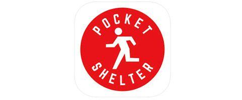 ポケットシェルター アプリ