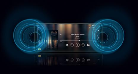 Xperia 10 IIIのオーディオイメージ