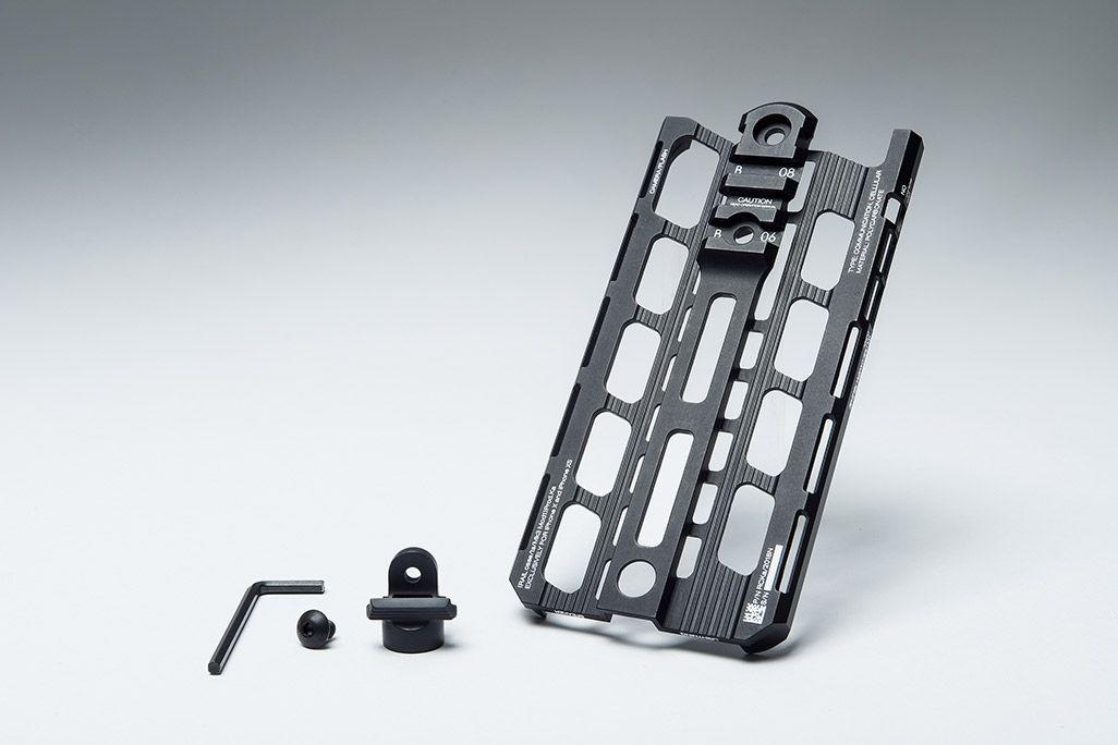 カトキハジメiPhoneケース「RAILcase」QD変換アダプターのセットコース