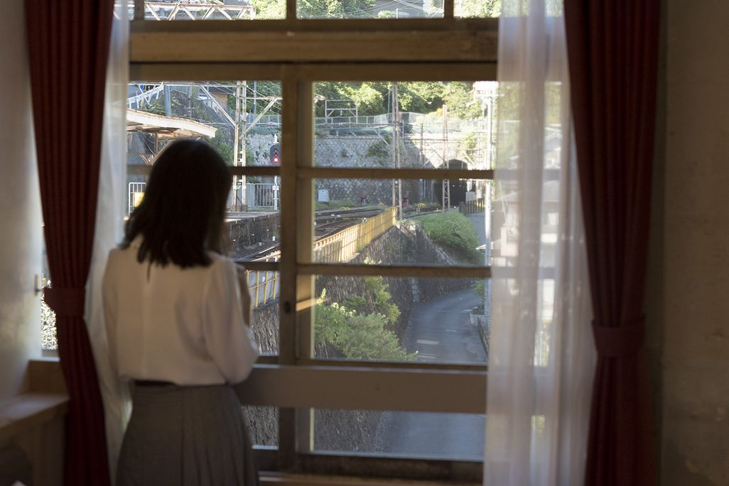 NIPPONIA HOTEL 高野山から望むホーム