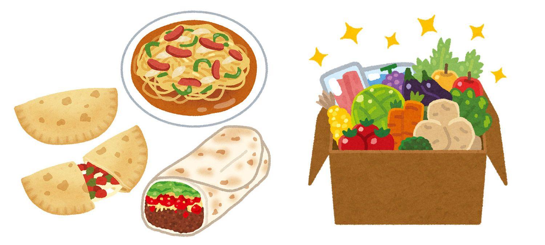 料理、食品