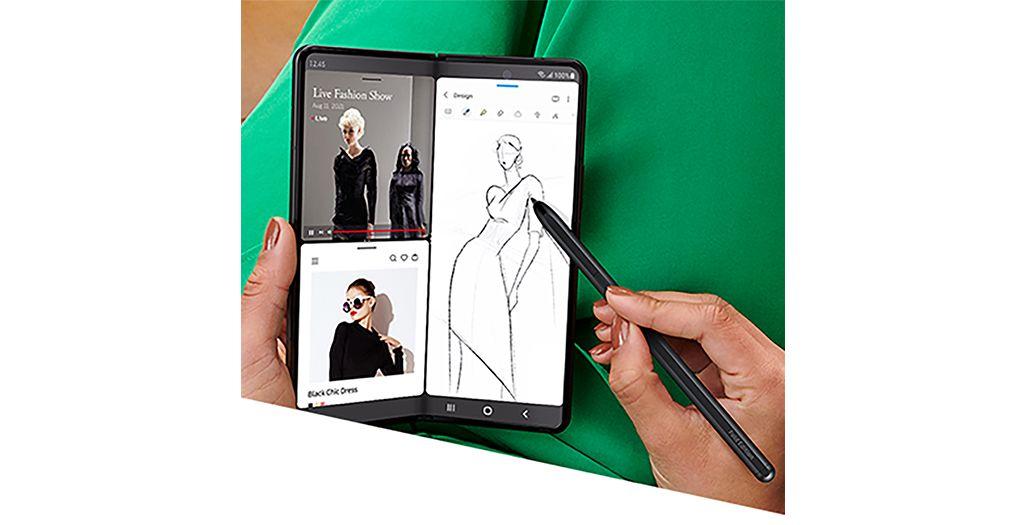 Galaxy Z Fold3 5GはSペンに対応