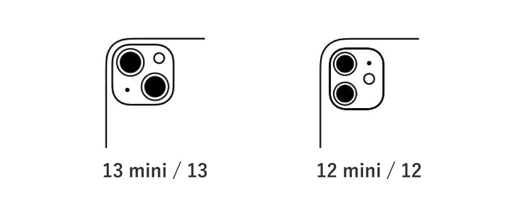 iPhone 13 / 13 miniとiPhone 12 / 12 miniの比較