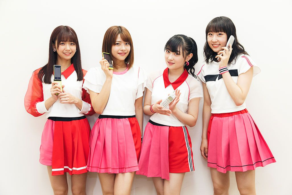Juice=Juiceの4人、宮崎由加、金澤朋子、梁川奈々美、段原瑠々