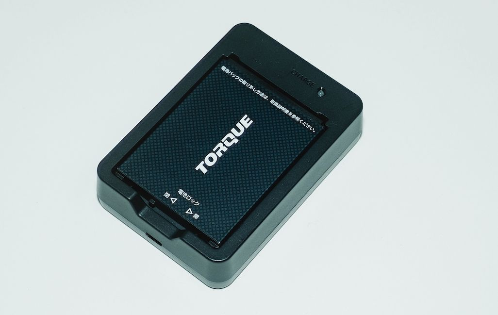 TORQUE 5Gのバッテリー充電器