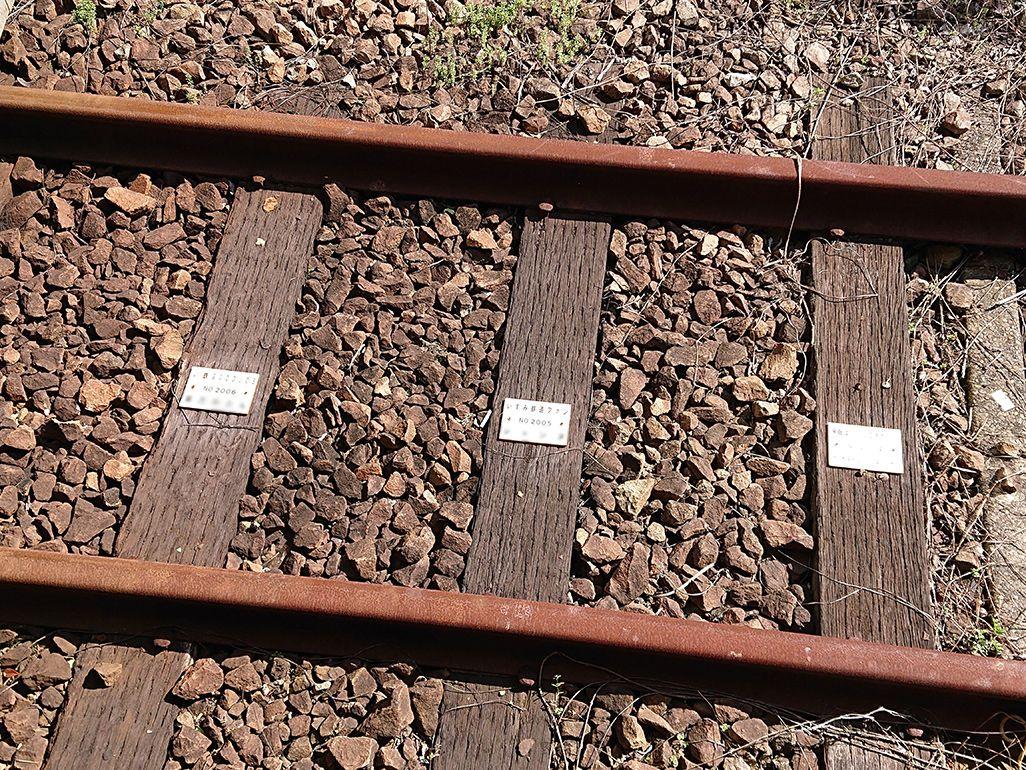 いすみ鉄道のいすみ鉄道を支える「枕木オーナー制度」