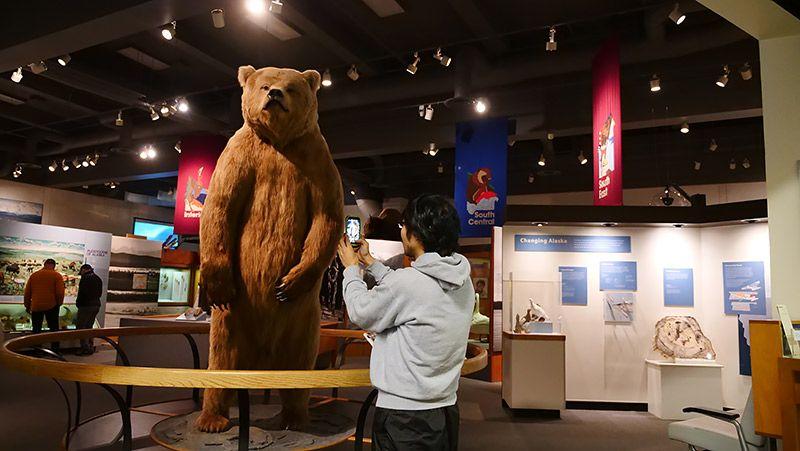 アラスカの博物館
