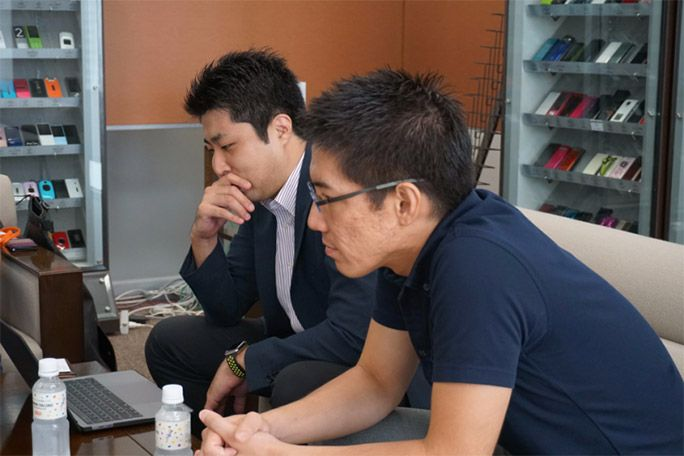 保険屋さんの今井さんと松浦さん