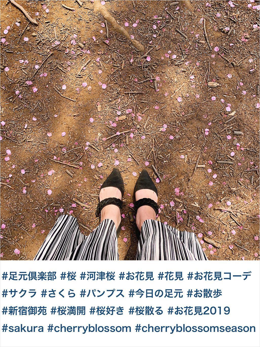 桜写真のハッシュタグ例