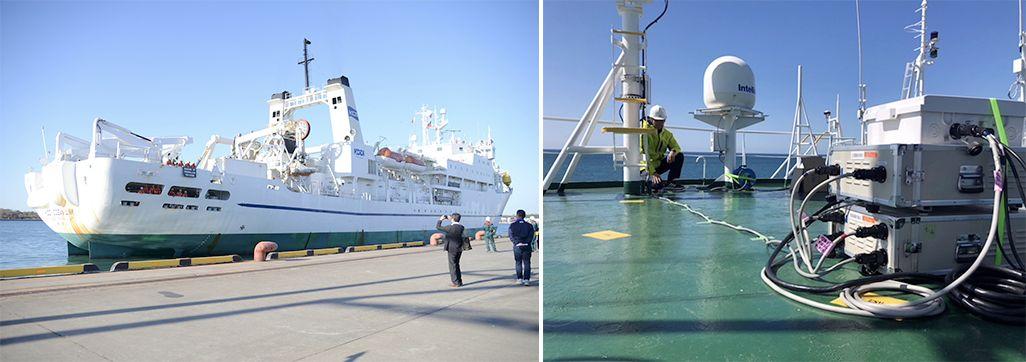 KDDIオーシャンリンクを活用した船舶型基地局