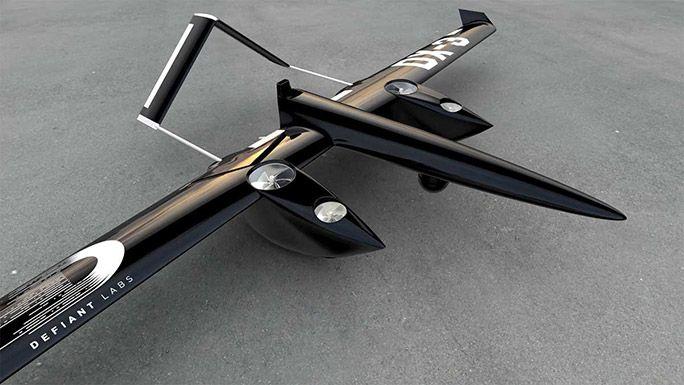 カナダのドローン開発メーカーThe Sky Guysが開発した「DX-3」