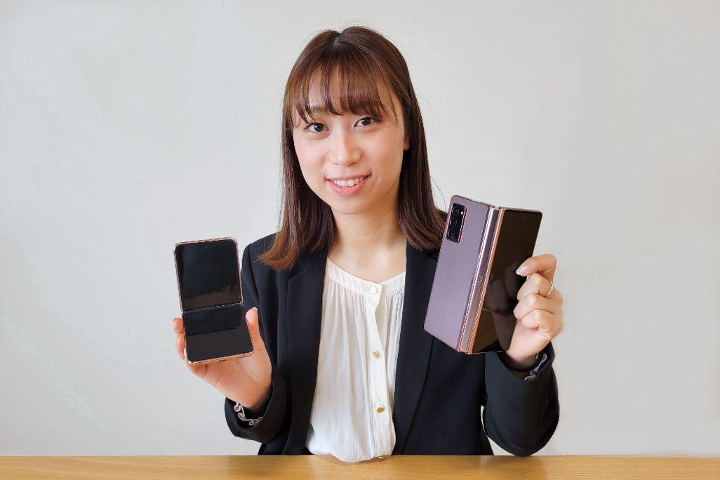 サムスン電子ジャパン プロダクトプランニング担当の国分夏希さん