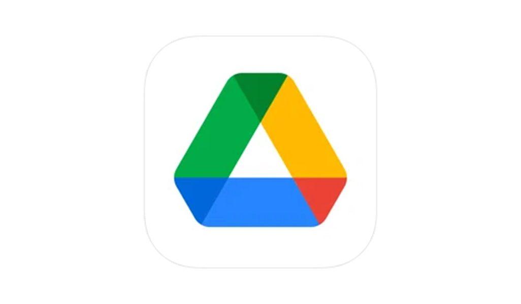 Google ドライブアプリのアイコン