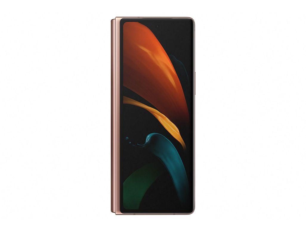 Galaxy Z Fold2 5Gのカバーディスプレイ