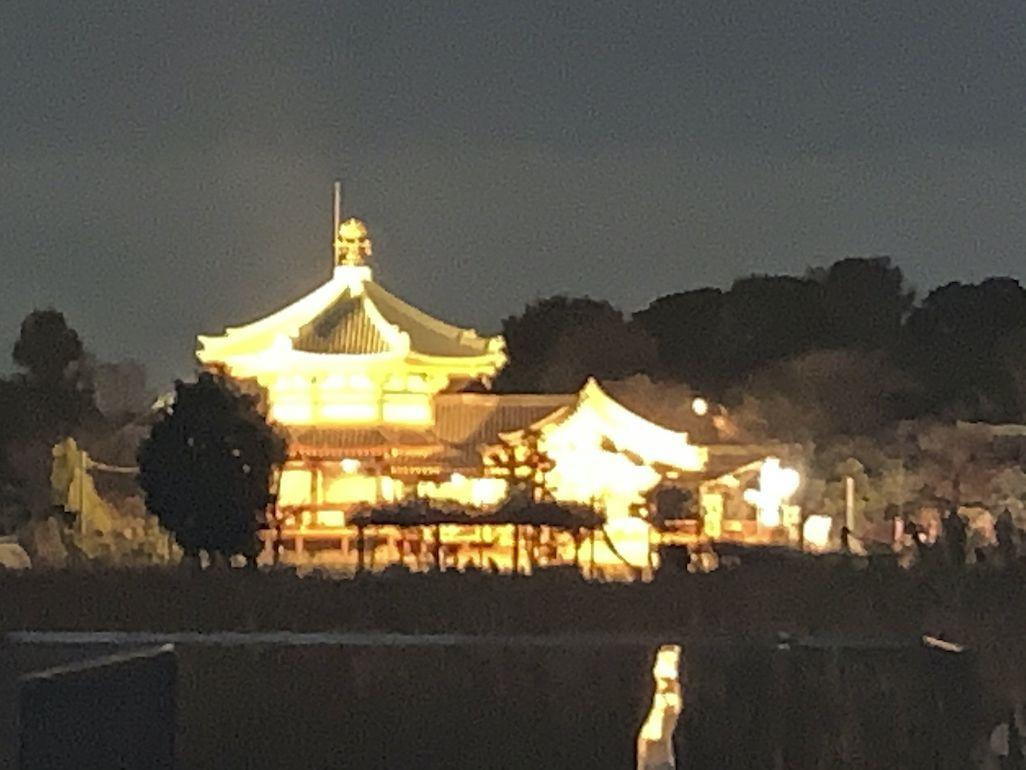 iPhone XSで撮影した上野不忍池辯天堂