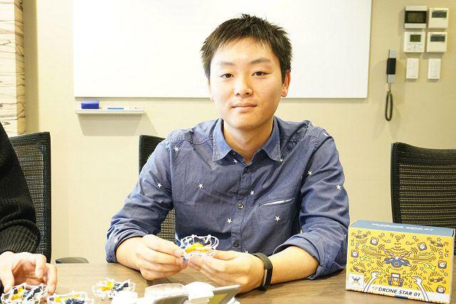 慶応大学在学中に学生ドローンチーム「KART」を創設し、ドバイで開催されたレースにも出場された高宮さん