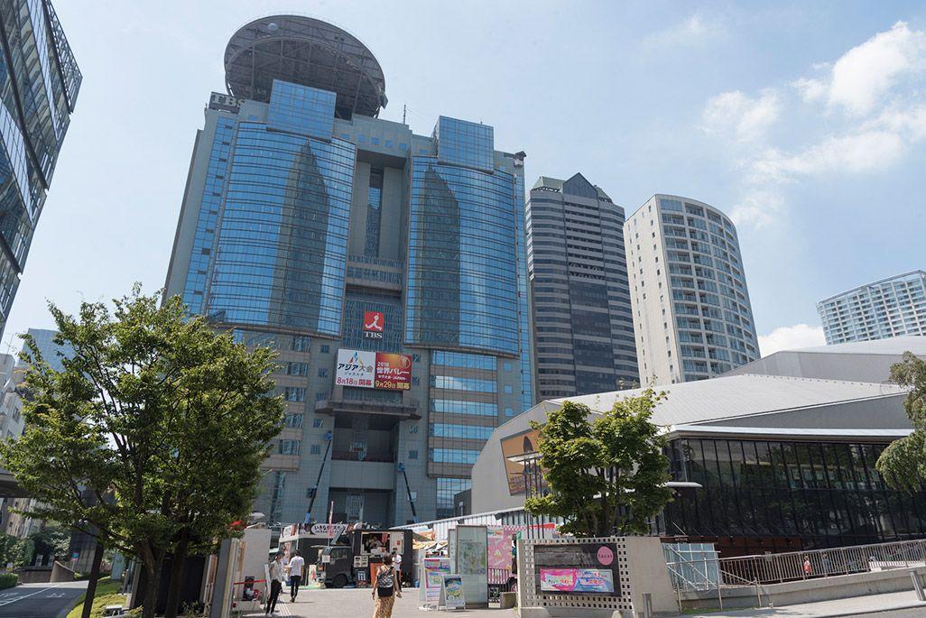 TBS社屋、赤坂サカス「夏サカス」の会場