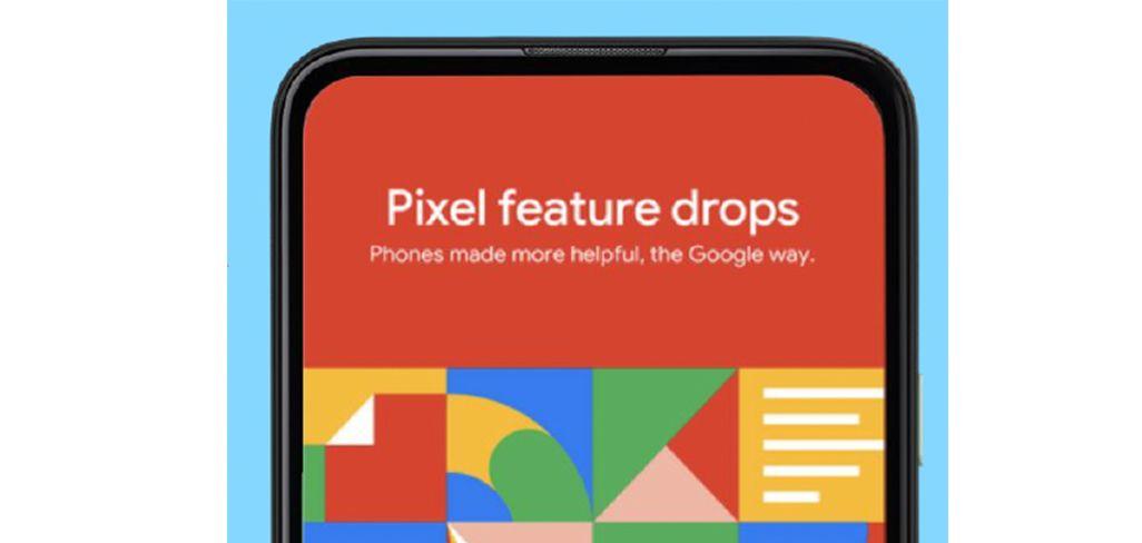 Google Pixel 5のFeature Drops