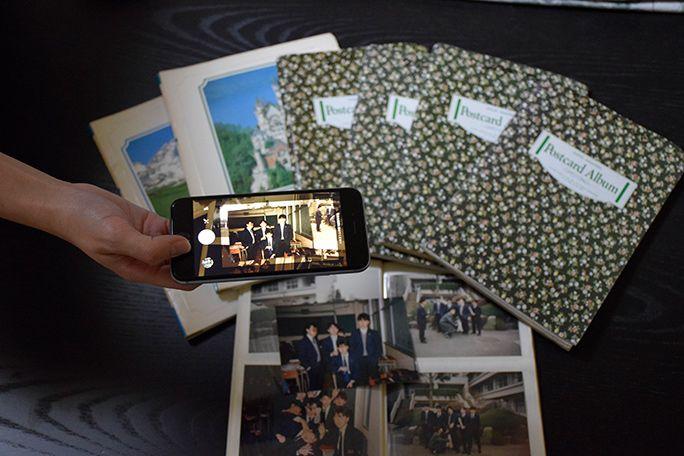 自宅に残る紙焼き写真やネガフィルム