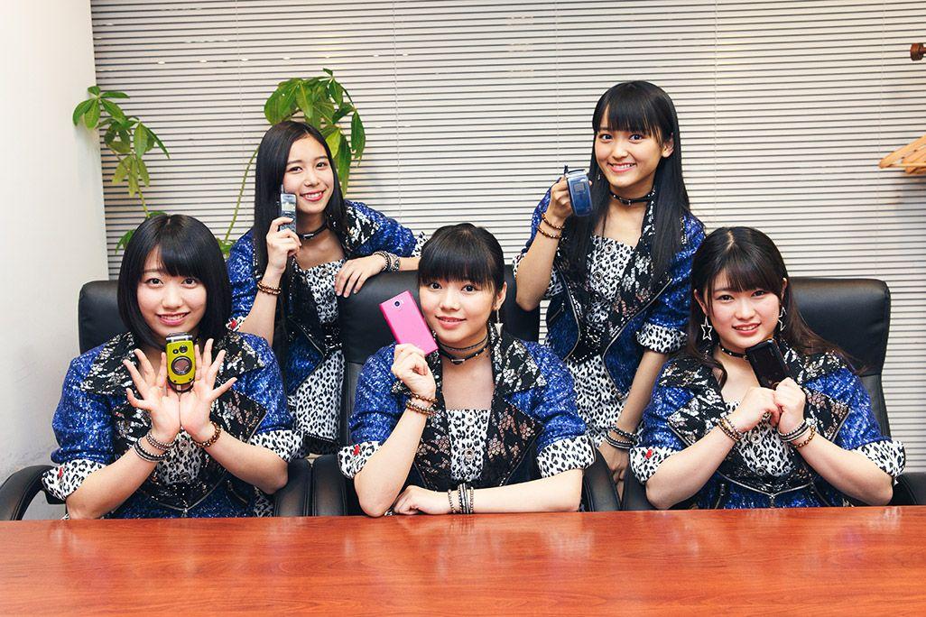和田桜子、井上玲音、浜浦彩乃、野村みな美、広瀬彩海、こぶしファクトリーの5人